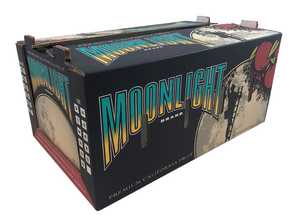 Moonlight Brand Box Premium California Fruit Box
