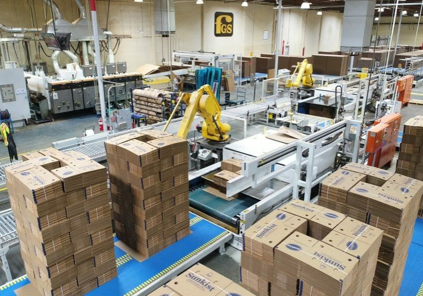 Fruit Growers Supply Carton Plant Automation